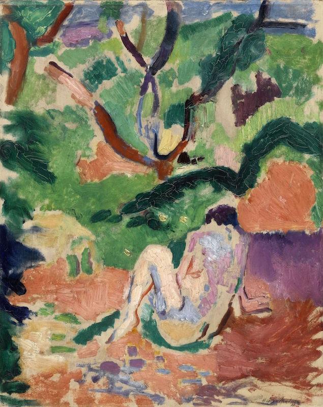 Inspiration Matisse : Matisse, Akt im Wald. © Succession H. Matisse/VG Bild-Kunst, Bonn 2019