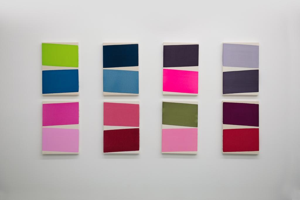 Soo Kyoung Lee / Guillaume Moschini : Vue de l'exposition de Guillaume Moschini, galerie Djeziri-Bonn, Paris, 2015 © R. Kriegel