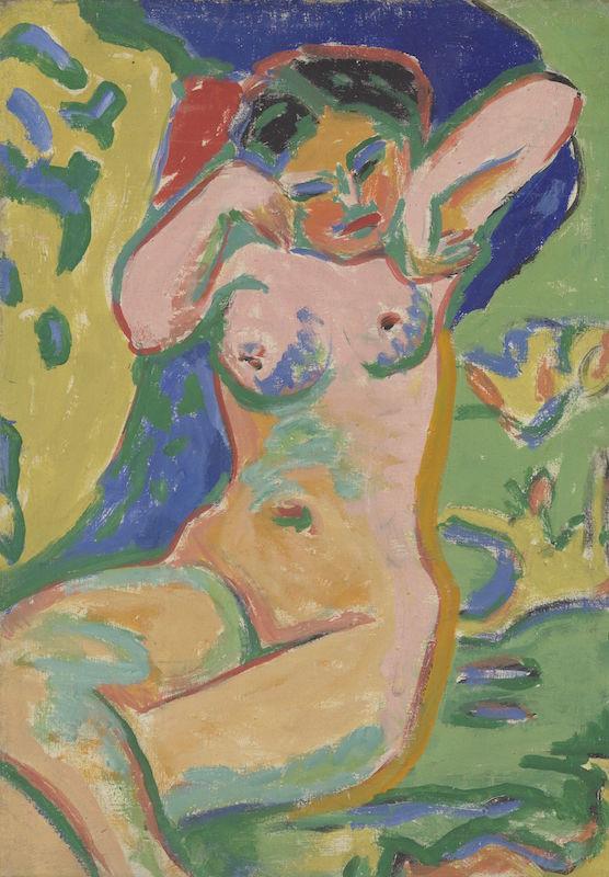 Inspiration Matisse : Kirchner, Madchenakt.