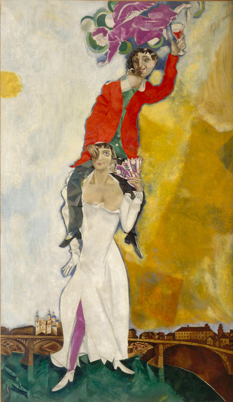 Chagall et l'avant-garde russe : ©ADAGP© Collection Centre Pompidou, dist RMN/ Adam Rzepka