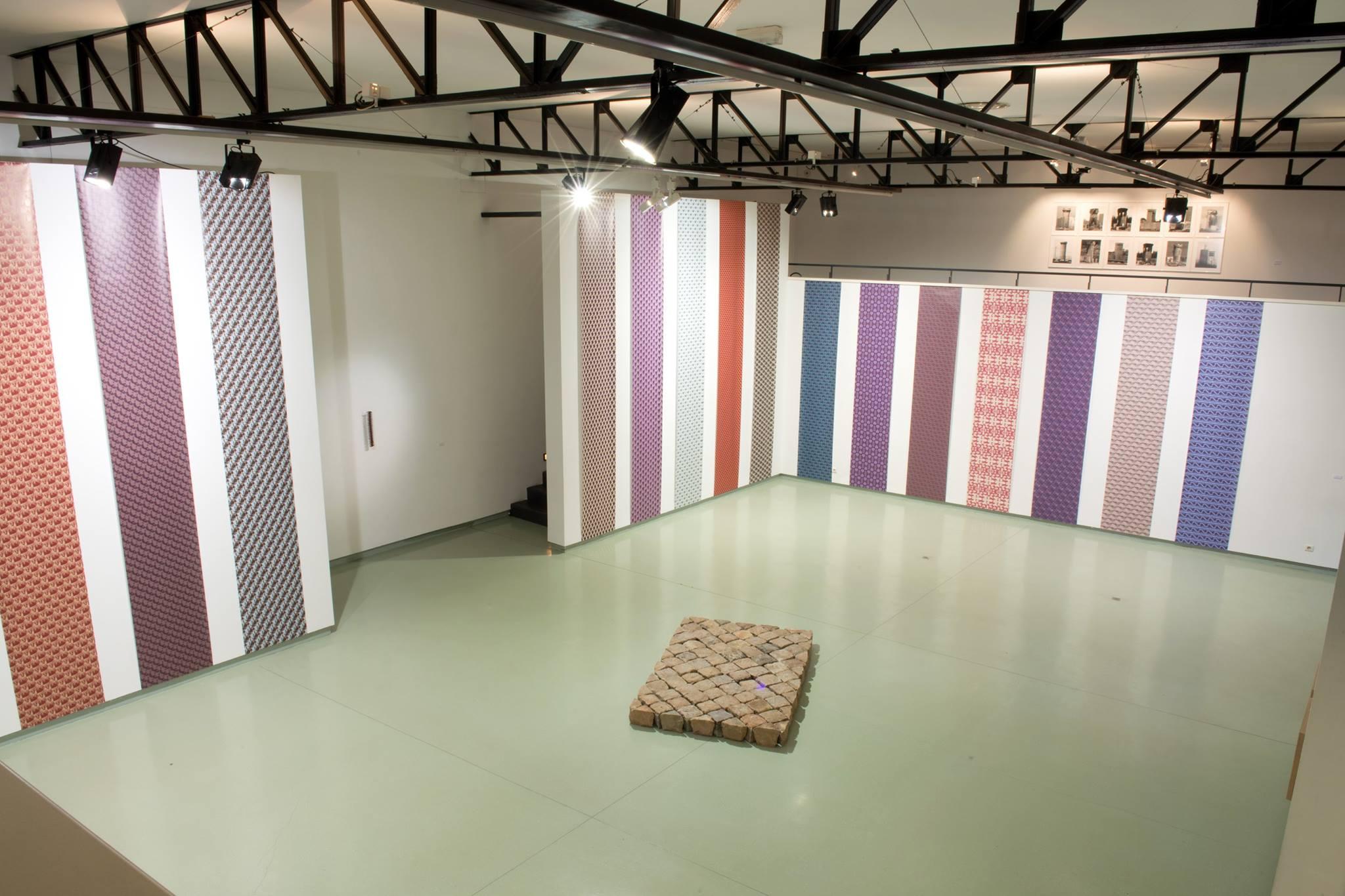 Taysir Batniji. Diplopie : Vue de l'exposition Diplopie à l'Espace d'Art Contemporain André Malraux, Colmar, 2016.