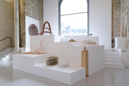 A Posteriori : Vue de l'exposition A POSTERIORI à La Maréchalerie centre d'art contemporain © Mole