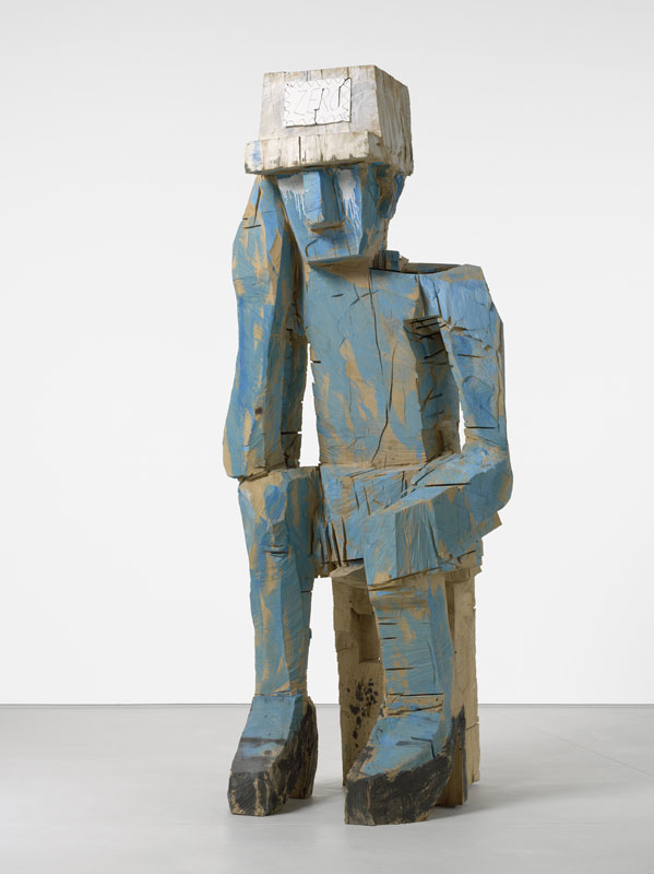 Baselitz sculpteur : Georg Baselitz, Volk Ding Zero - Folk Thing Zero, 2009, Collection privée, Courtesy Thaddaeus Ropac, Paris – Salzbourg, Photo : Jochen Littkemann © Georg Baselitz