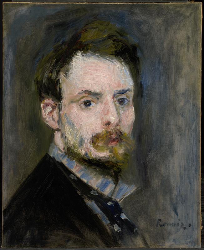 La Passion Renoir. : Self-Portrait, 1874, © Sterling and Francine Clark Art Institute, © 2010 Museo Nacional del Prado