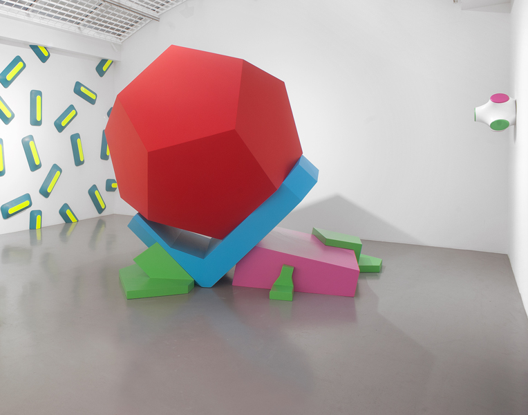 Nicolas Guiet. WRSETXDRYCFTVYGBHKUNIJLKO : Vue de l'exposition de Nicolas Guiet, galerie Jean Fournier, 2019. Photo © Alberto Ricci