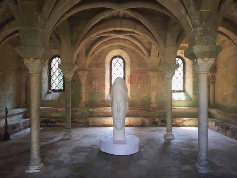IN SITU - Patrimoine et art contemporain : Jaume Pensa. SANA, 2013.  © Camille Bardin