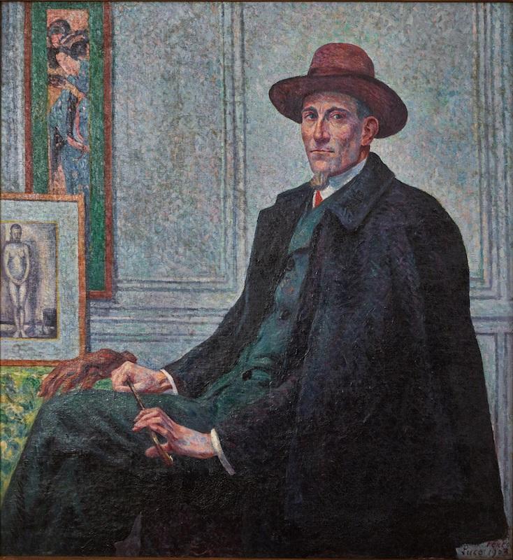 Félix Fénéon (1861-1944). Les temps nouveaux, de Seurat à Matisse. : Portrait de Félix Fénéon, 1903 Huile sur toile, 127 x 118 cm Nevers, Musée de la faïence et des beaux-arts © S. Nesly