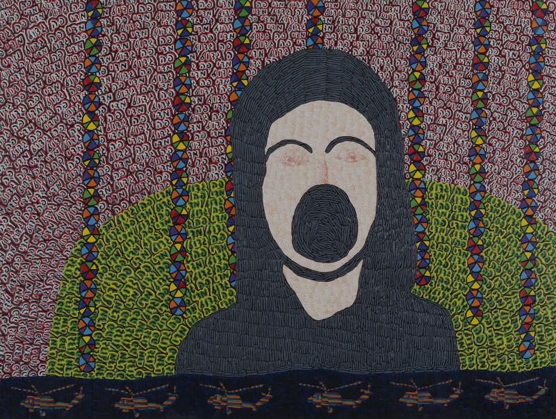 Altérité - Je est un autre : Tal Mazliah, Untitled, 2012, Peinture à l'huile sur bois, 120 x 90 cm © Tomer Gabay