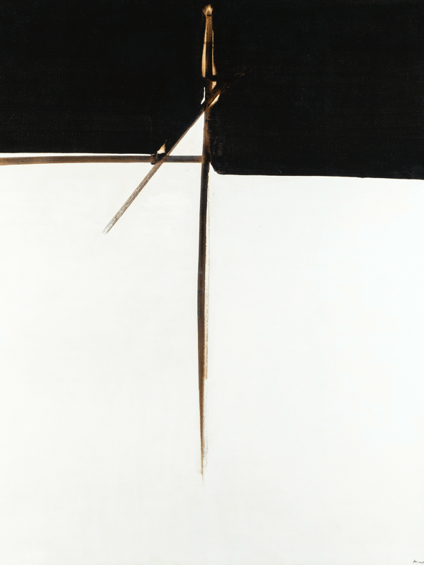 André Marfaing : Sans titre 1978 Acrylique sur toile, 162 x 130 cm (réf. atelier mars 78-2) © Photo J-L. Losi