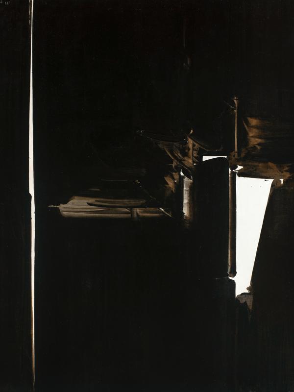 André Marfaing : Sans titre 1977 Acrylique sur toile, 200 x 200 cm (réf. atelier Mars 77-2) © Photo J-L. Losi