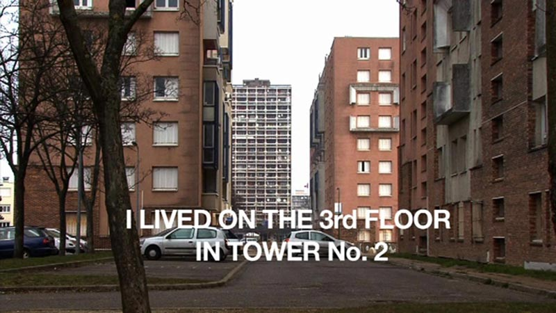 Mounir Fatmi - Architecture Now : I lived on the 3rd floor