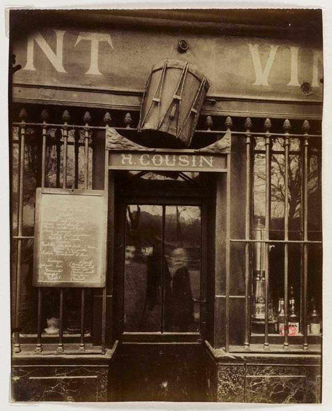 Eugène Atget. Paris, 1898 - 1924 : Cabaret
