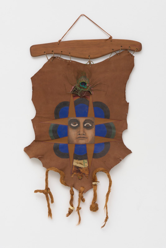 Betye Saar. Call and Response : Betye Saar, The Divine Face, 1971, mixed media assemblage, courtesy of the artist and Roberts Projects, Los Angeles, © Betye Saar, photo credit: Robert Wedemeyer
