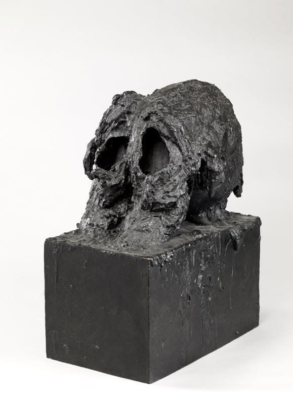 50 Artistes, une collection : BARCELO Miquel  - Tête de gorille - 2000 - Archives Fondation Maeght photo C.Germain