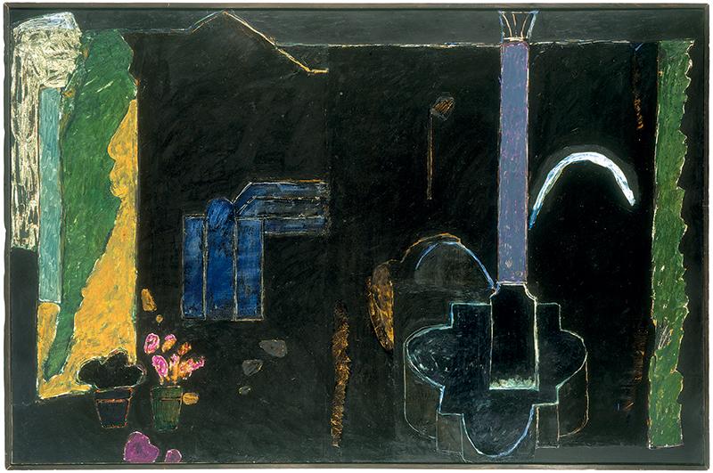 Passages : vers une abstraction habitée : Bioulès - Place d'Aix.