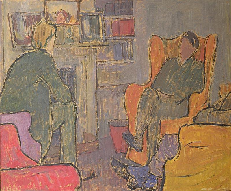 Conversation anglaise: le groupe de Bloomsbury : © Estate of Vanessa Bell, courtesy Henrietta Garnett