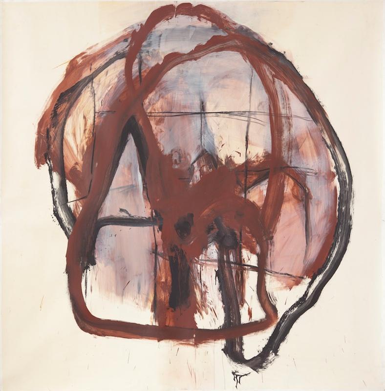 Jörg Langhans – État des lieux : Vanite, 1993, 2,15 x 2,15 m.