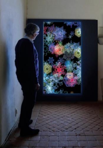 Miguel Chevalier. Digital Cristaux 2020 :