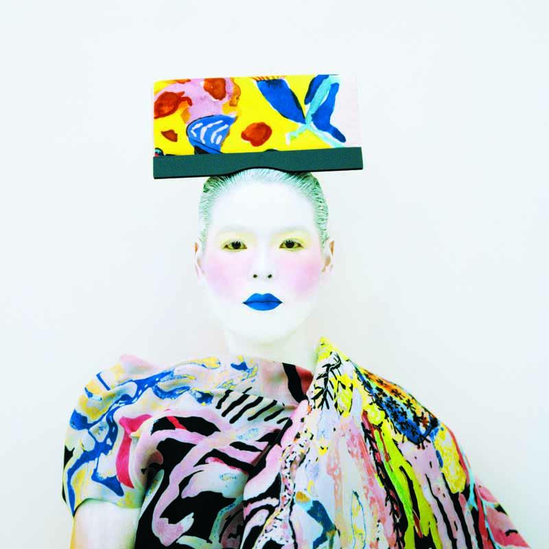 Kimiko Yoshida, Là où je ne suis pas : Peinture (Torero de Picasso), autoportrait, 2007-2009 © Kimiko Yoshida