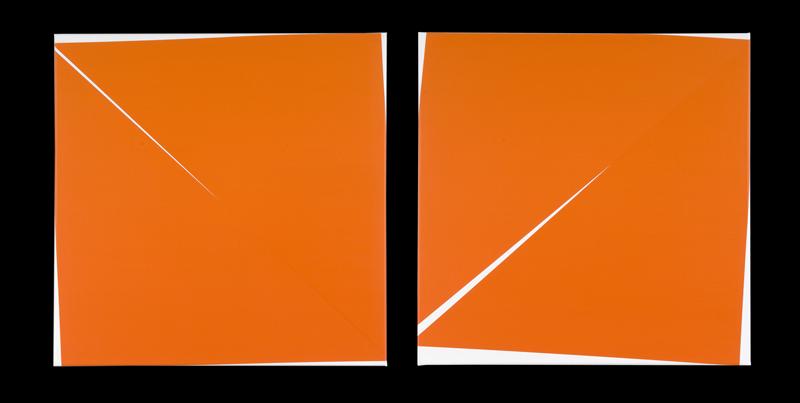 Véra Molnar, 86 : Carrés coupés en deux, 2010,  Photographie : Aurélien Mole, Courtesy galerie TORRI, © ADAGP, 2010