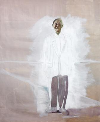 E-motion - collection Bernard Massini : Denis Castellas, Sans titre, 2005, Huile sur toile, 230 x 190 cm. Photo Claude Germain © Denis Castellas