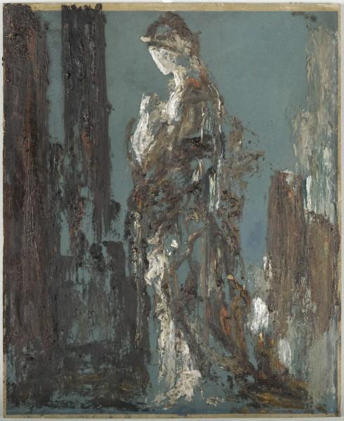 Gustave Moreau - Hélène de Troie la beauté en majesté : Gustave Moreau. Hélène, huile sur carton, Paris, Musée Gustave Moreau, Cat. 903 ©RMN/ René-Gabriel Ojéda