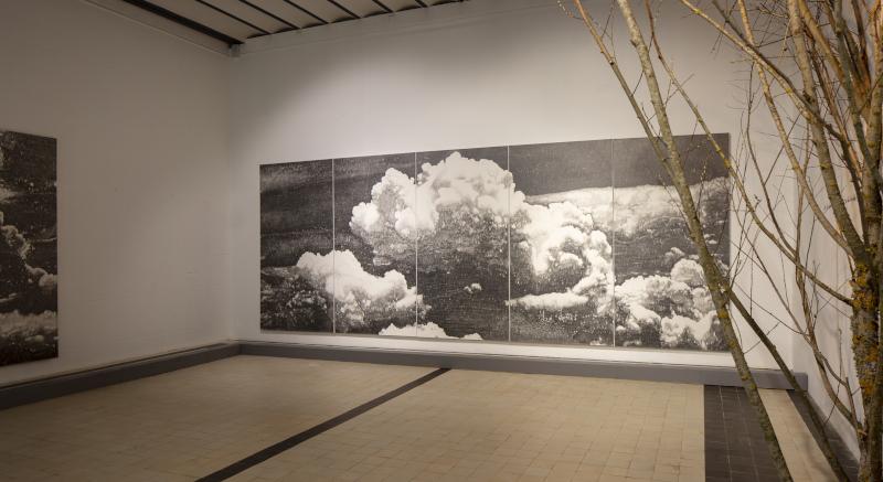 Saison d'art 2021 au Domaine de Chaumont-sur-Loire : Nuages, exposition de François Réau au Domaine de Chaumont-sur-Loire, 2021 - © Éric Sander