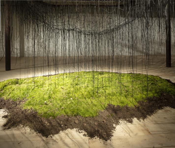 Saison d'art 2021 au Domaine de Chaumont-sur-Loire : Direction of Consciousness, installation de Chiharu Shiota pour le Domaine de Chaumont-sur-Loire, 2021 - © Leighton Gough