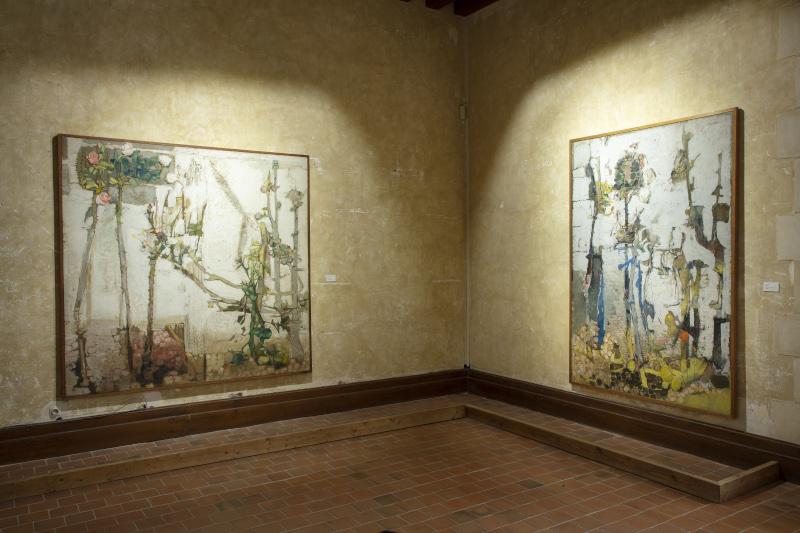 Saison d'art 2021 au Domaine de Chaumont-sur-Loire : Paysages, exposition de Paul Rebeyrolle au Domaine de Chaumont-sur-Loire, 2021 - © Éric Sander
