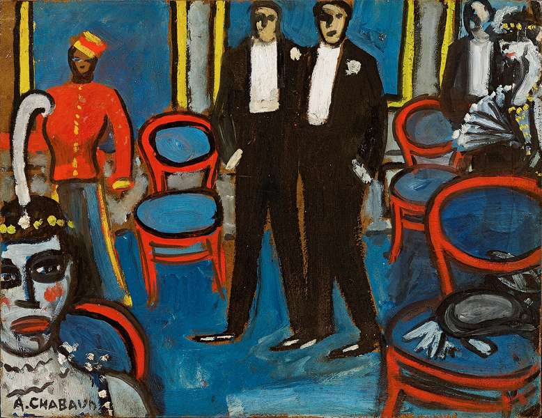 The magazine art absolument les expositions chabaud for Auguste chabaud cote