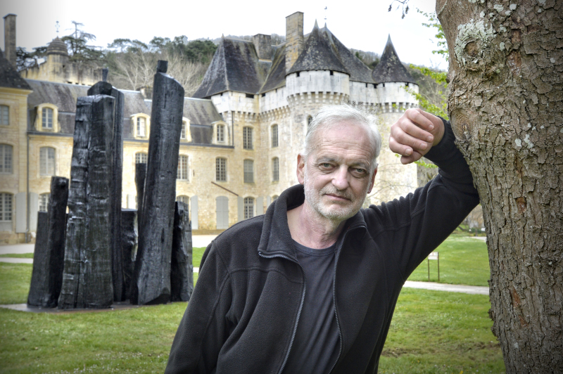 La Forêt des Autres : Christian Lapie au Domaine départemental de Campagne - Crédit photo D.NIDOS-CD24