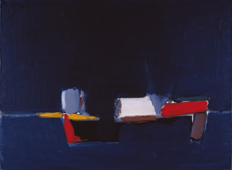 Collection Planque, l'exemple de Cézanne : Nicolas de Staël, Marine, 1954, huile sur toile, 60 x 81 cm. Fondation Jean et Suzanne Planque. Photo Luc Chessex © ADAGP, Paris
