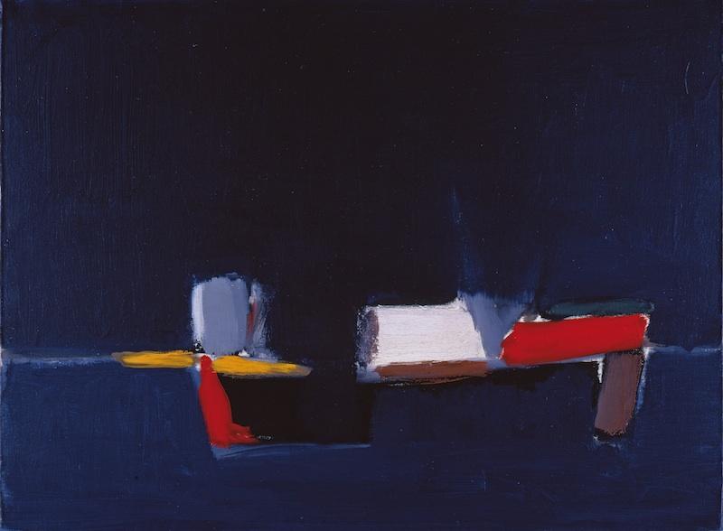 Collection Planque, l'exemple de Cézanne : Nicolas de Staël, Marine, 1954, huile sur toile, 60 x 81 cm. Fondation Jean et Suzanne Planque. Photo Luc Chessex © ADAGP, Paris