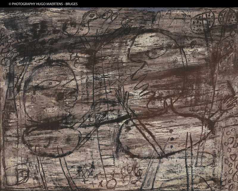 Figurations et Défigurations - Collections 2012 : Jean Dubuffet (1901-1985),