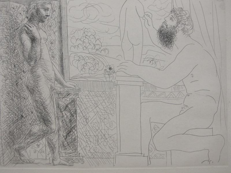 Le corps dévoilé : Pablo Picasso, L'Atelier, 1948. © Coll. MUba