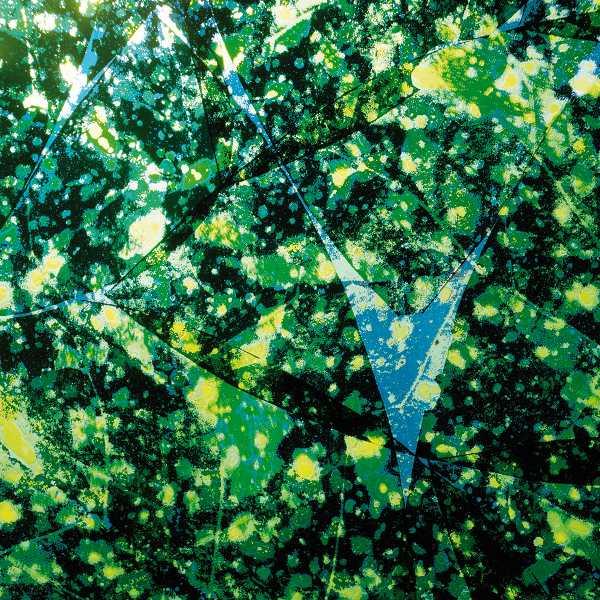 Marc Couturier – Le Troisième Jour : Aucuba, dimensions variables, film sérigraphique sur verre, 2012, © DR