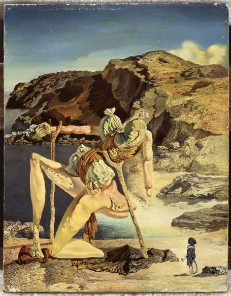 Dalí : Le spectre du sexappeal, vers 1934 Huile sur bois - 17,9 x 13,9 cm Fundació Gala-Salvador Dalí, Figueres © Salvador Dalí, Fundació Gala-Salvador Dalí / Adagp Paris 2012