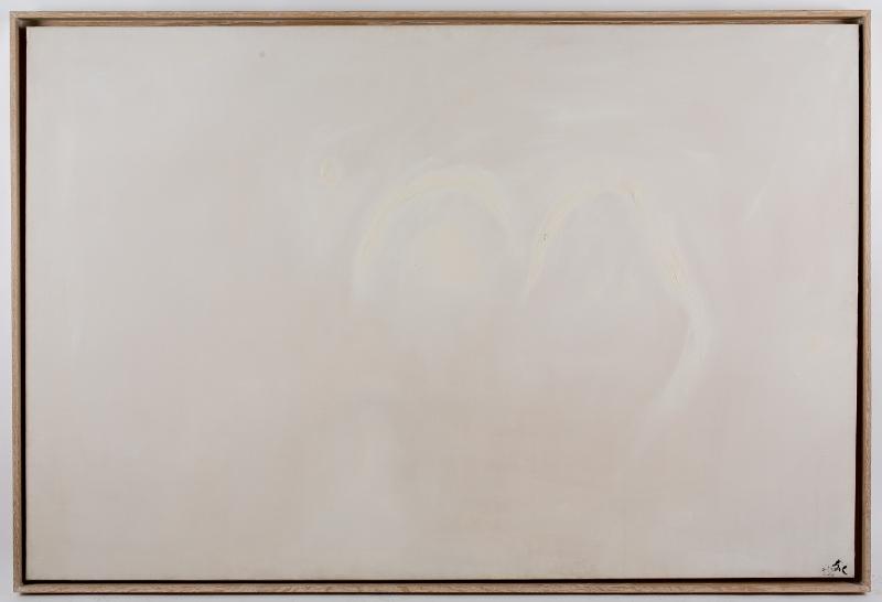 Tal Coat - La liberté farouche de peindre : Dans la clarté, 1972 Huile sur toile 130 x 195 cm Collection Sylvie Baltazart-Eon Photo : Augustin de Valence, © ADAGP Paris 2017