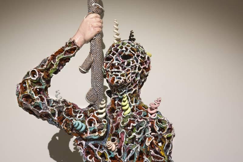 STREET TRASH : L'effet spécial de la sculpture / Sculpture as special effect : David et l'oeil de Goliath, Michel Gouéry, 2012