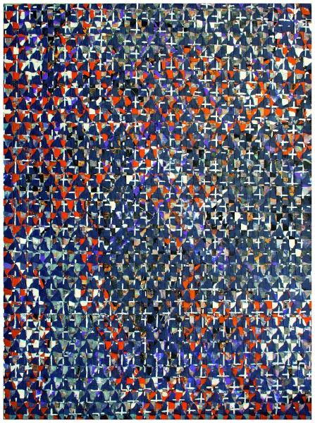 François Rouan. Grands formats choisis au musée Fabre à Montpellier & travaux d'aujourd'hui découverts à Laversine :