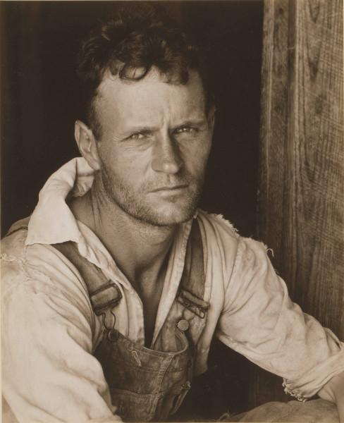 Sune Jonsson / Walker Evans - Deux maîtres de la photographie sociale : Walker Evans, Floyd Bur- roughs, métayer, 1935 ou 1936 © Fondation Hasselblad