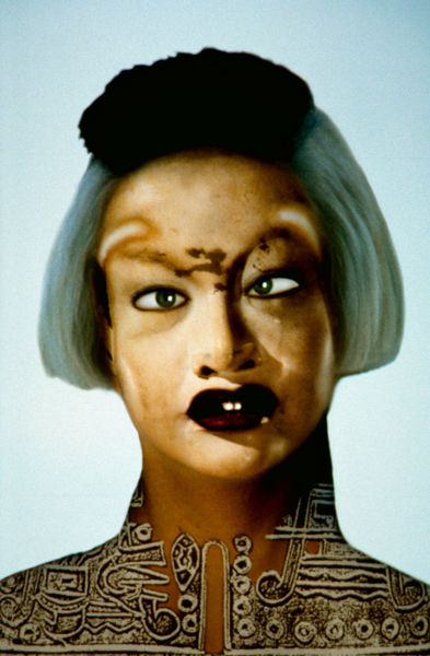 Everybody : Orlan, Refiguration / Self-Hybridation n°12, 1998. Centre national des arts plastiques © ADAGP, Paris 2016