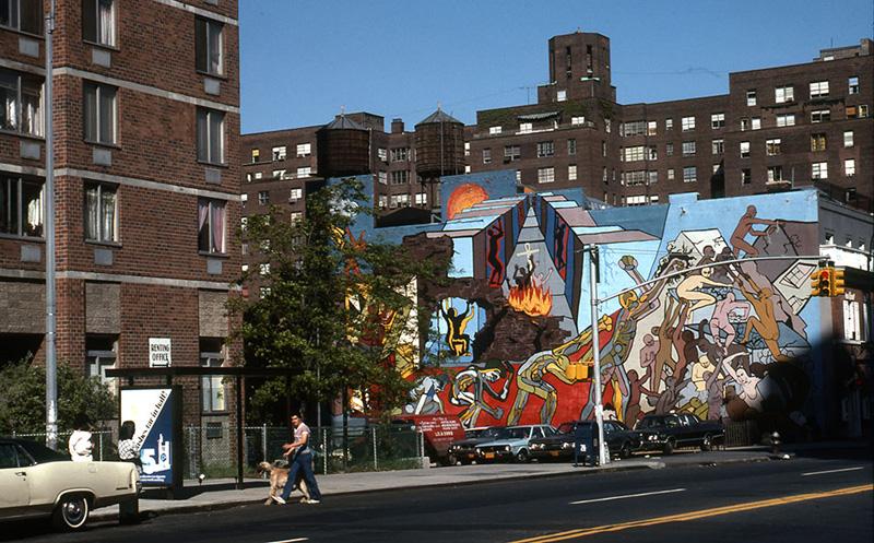 Flash-back. Murals, États-Unis, années 70 : CITYARTS WORKSHOP, Arise from Oppression (1972) -®art-public_photographe  Jean-Constant Gindreau
