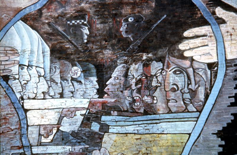 Flash-back. Murals, États-Unis, années 70 : William WALKER_Peace and Salvation_Wall of Understanding_1970_CHICAGO_1f_-®art-public_photographe  Jean-Constant Gindreau