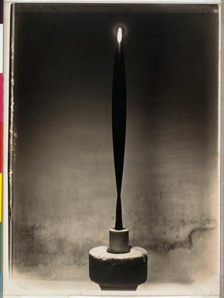 Formes Simples : Constantin Brancusi. L'Oiseau dans l'espace. 1936.