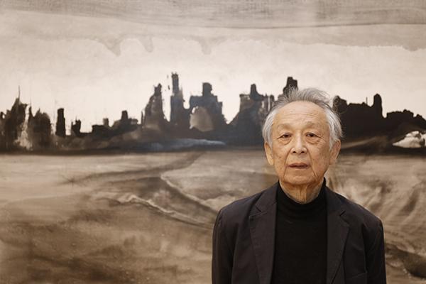 Gao Xingjian. Appel pour une nouvelle renaissance : Gao Xingjian au Domaine de Chaumont-sur-Loire, 2019 - © Eric Sander