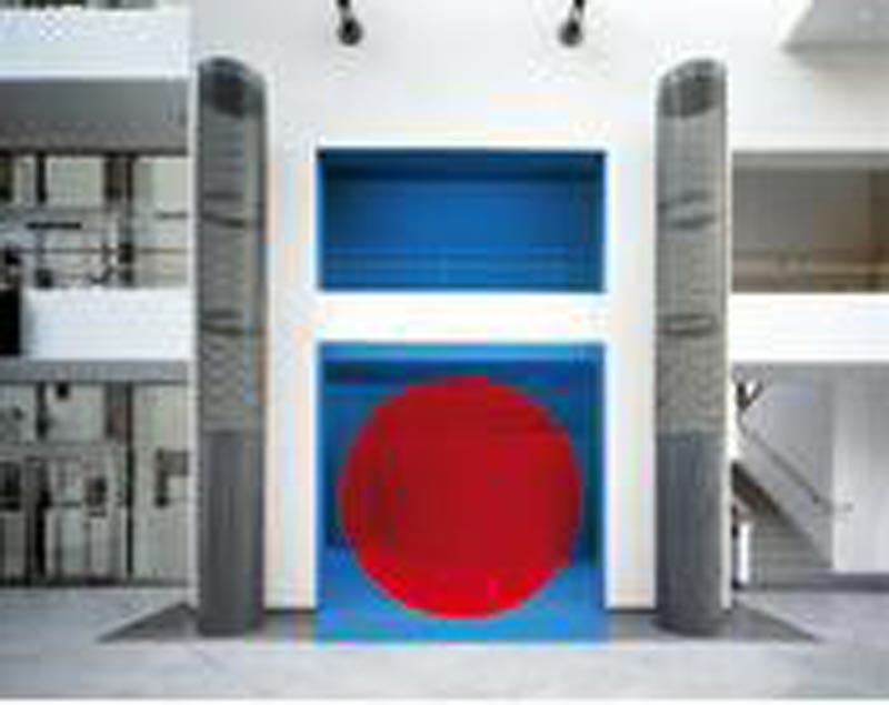 Georges Rousse – Architectures : ©Adagp, Paris 2010