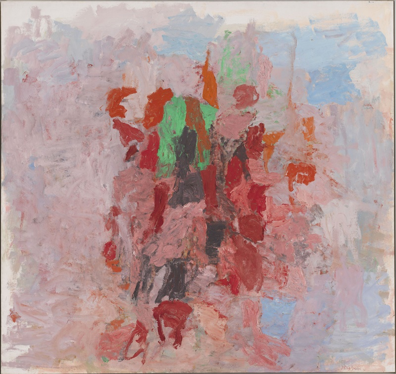 Nymphéas. L'abstraction américaine et le dernier Monet. : Dial. 1956, Huile sur toile.182,9 x 194 cm. New York, Whitney Museum, NY. © The Estate of Philip Guston, courtesy Hauser & Wirth