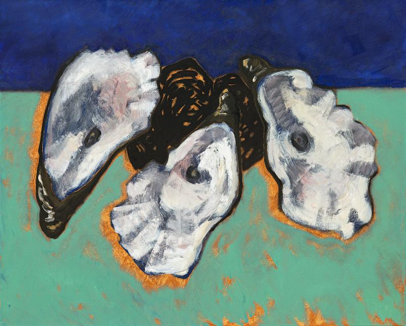 Guy de Malherbe. Reliefs : Guy de Malherbe, Reliefs trois huîtres