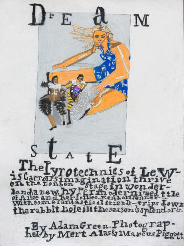 Helen Rae et les lauréates du Prix Art Absolument pour l'Outsider Art 2019 : Helen Rae. January 12, 2017. 2017, crayon de couleur et graphite sur papier, 61 x 46 cm.